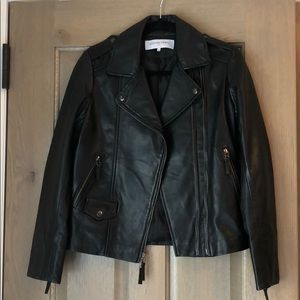 Gerard Darel Leather Jacket